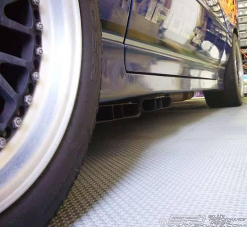 Side Clearance Sized on Ac Cobra Side Exhaust Pipes